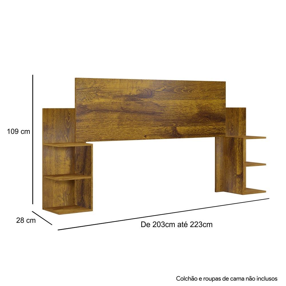 Cabeceira Casal Palma Rovere - Kaiki Móveis