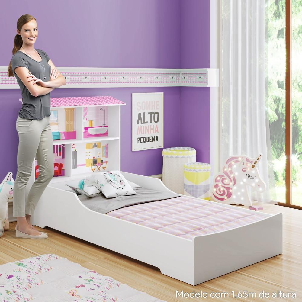 Cama Infantil Mimus - Branco -Tigus Baby