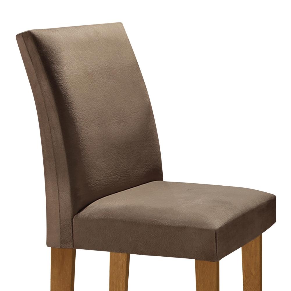 Conjunto Sala De Jantar Mesa Dakota 0,90X0,90 Com 4 Cadeiras Classic - Ype/Off - Cel Móveis