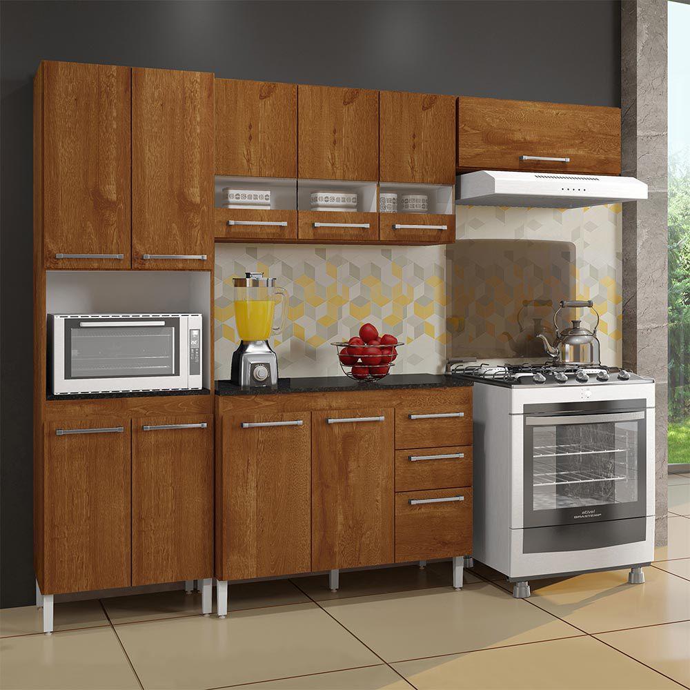 Cozinha Completa 4 peças Alice Caramelo - CHF