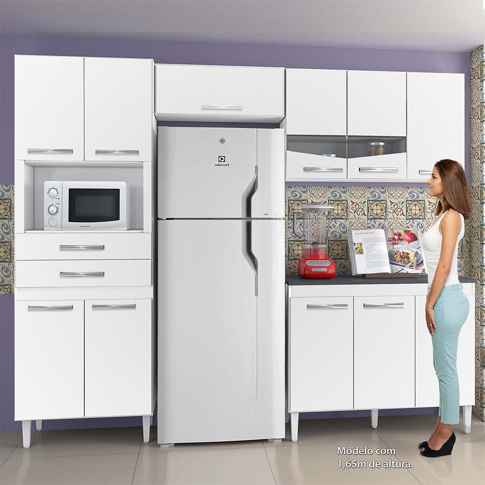 Cozinha Completa Lívia Branco - CHF