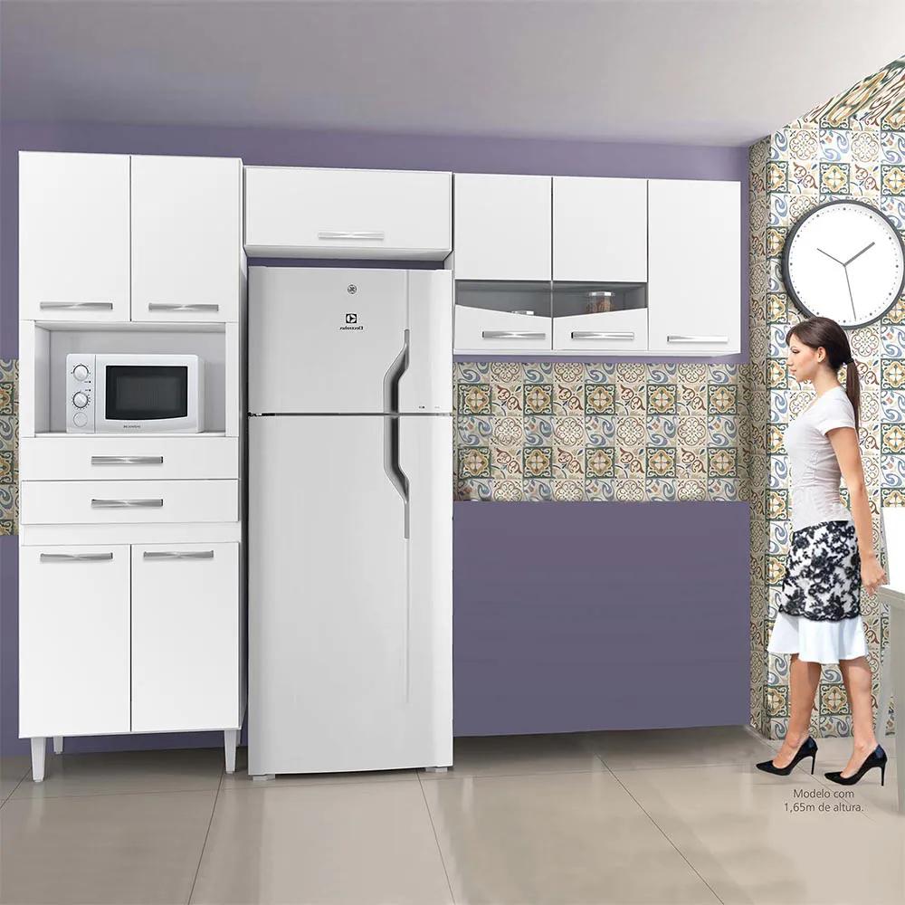 Cozinha Lívia com 3 Peças Branco - CHF