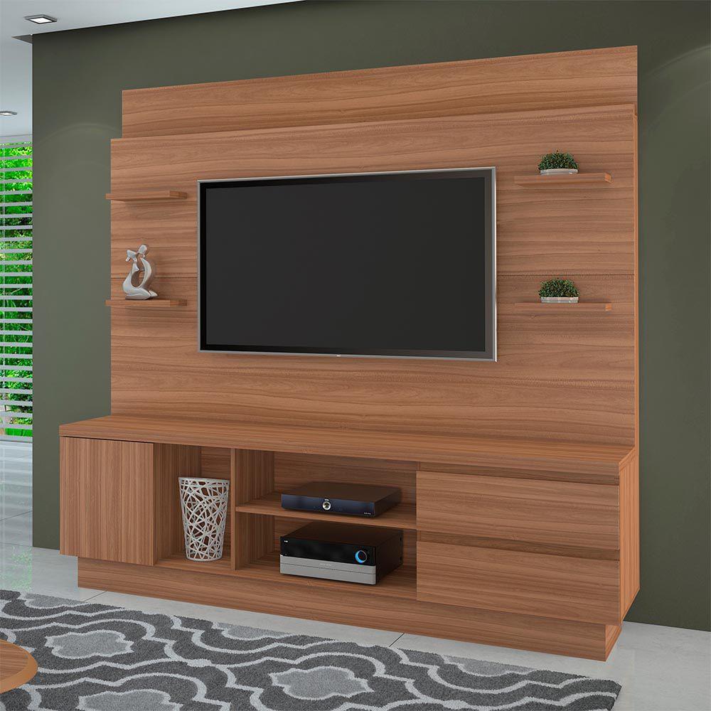 "Estante Home P/ TV até 60"" Buran Naturale JCM Movelaria"