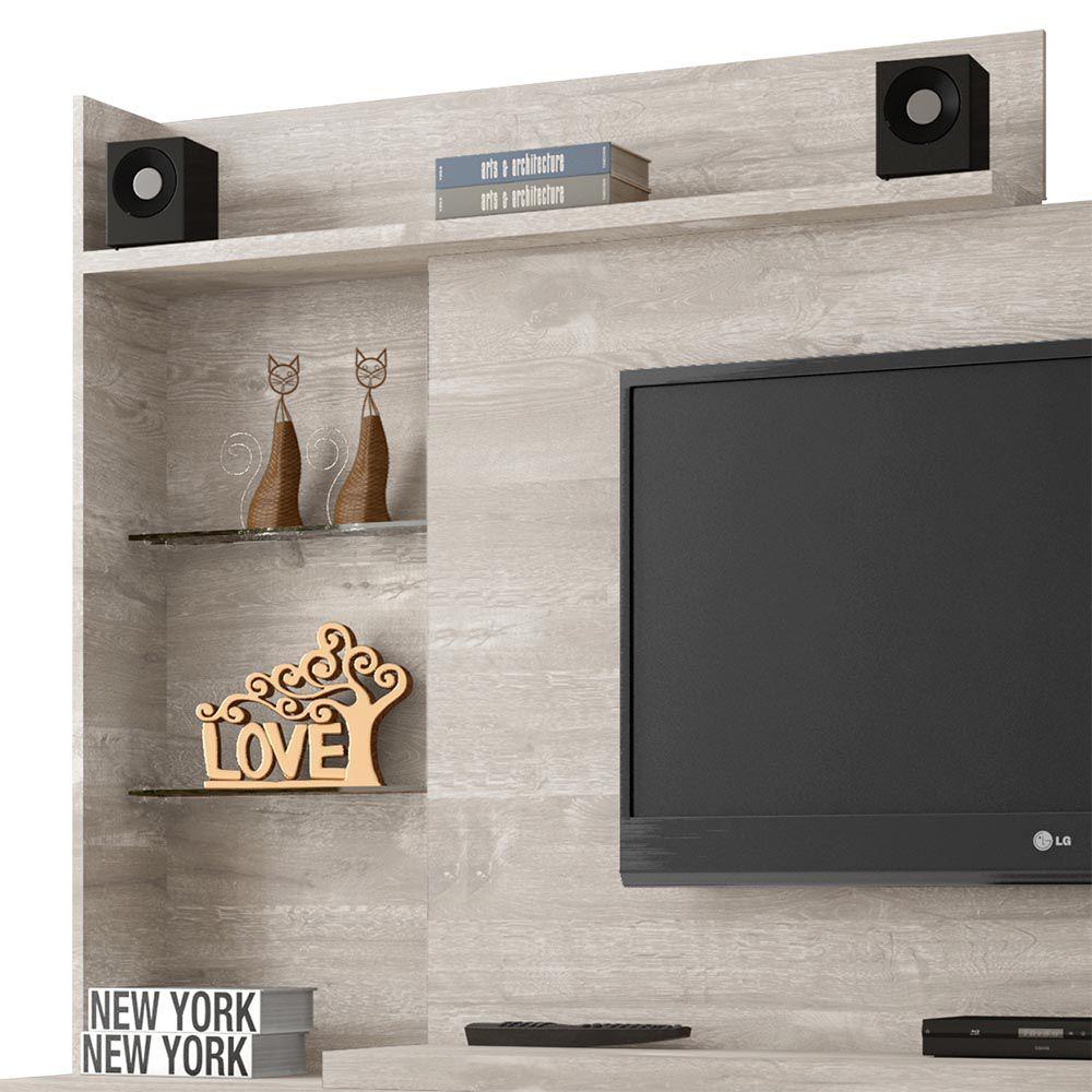 Estante Home para TV Adustina Champanhe - CHF