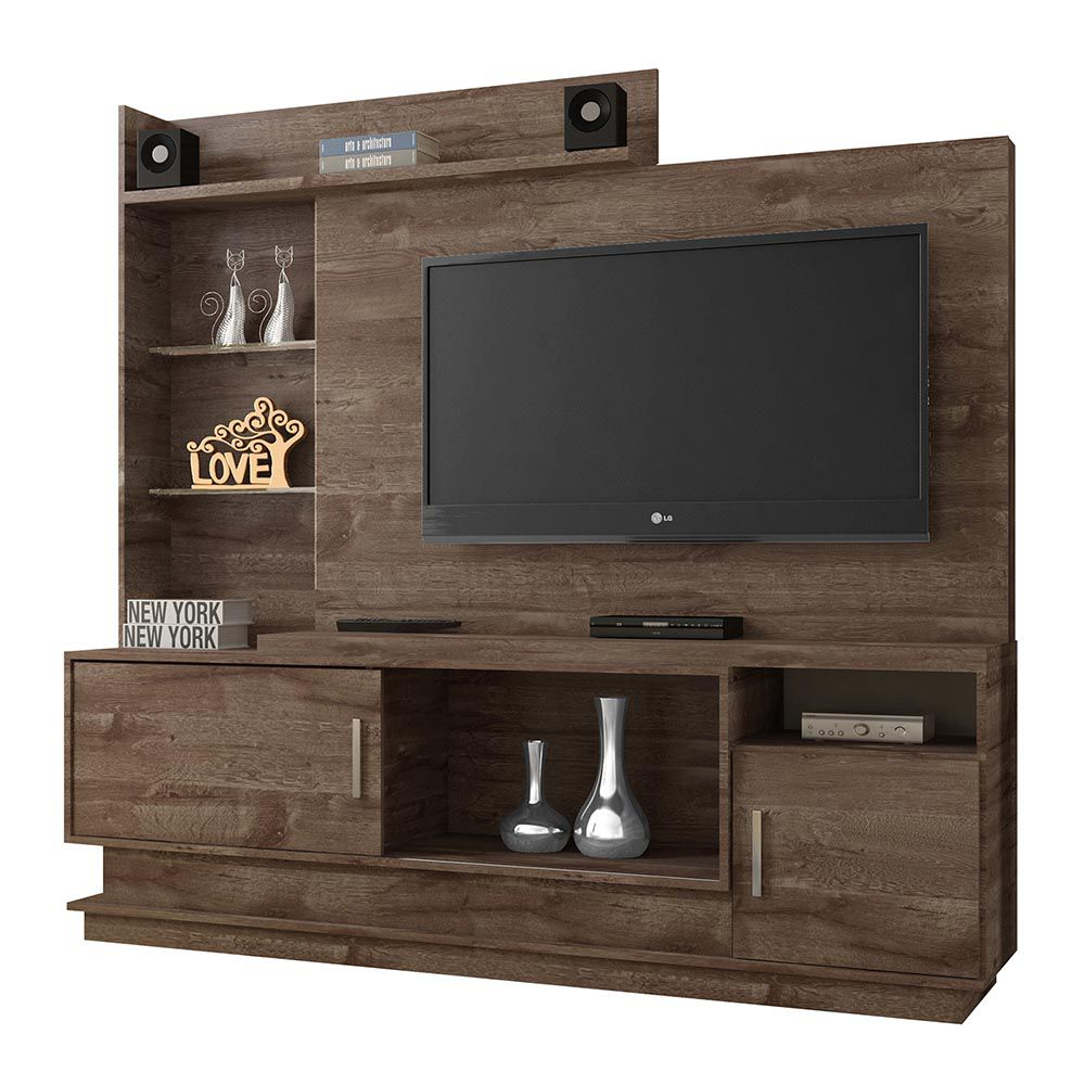 Estante Home para TV Adustina Chocolate - CHF