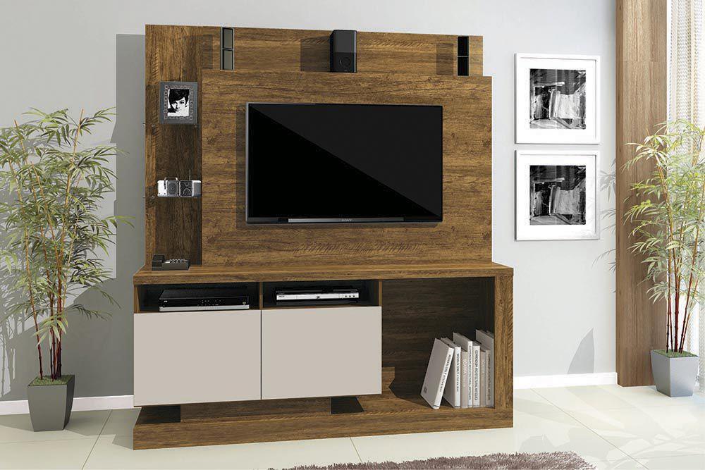 Estante Home Para Tv Até 55 Polegadas 2 Portas Legacy Mavaular