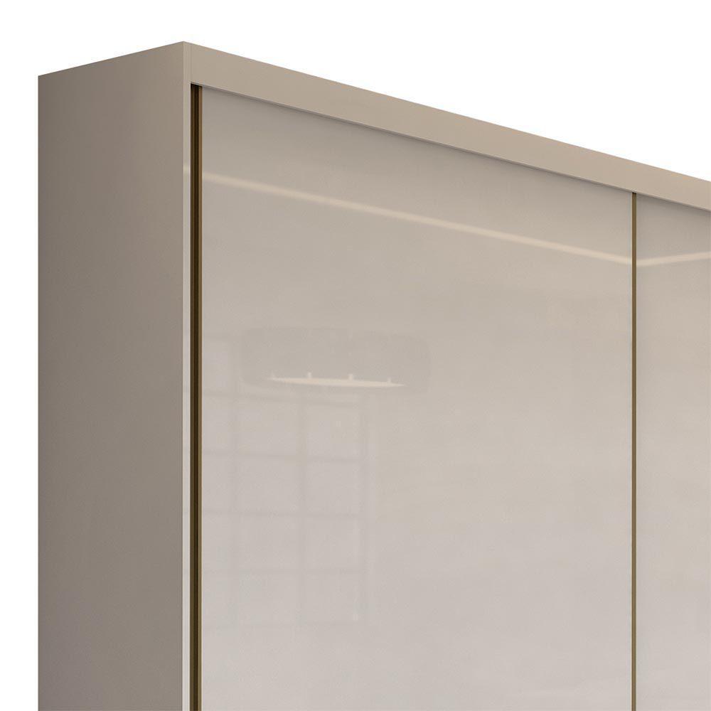 Guarda Roupa Casal sem Espelho 2 Portas 4 Gavetas Royal Branco - Lopas