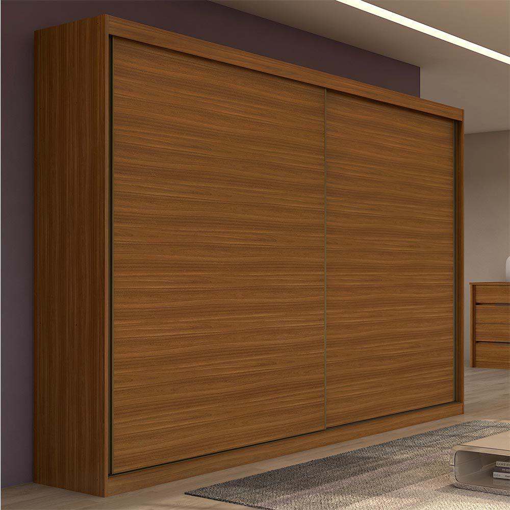 Guarda Roupa Casal sem Espelho 2 Portas 4 Gavetas Royal Rovere Naturale - Lopas