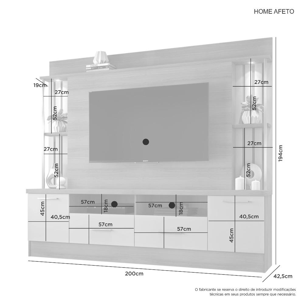Home Afeto Cacau - JCM Movelaria