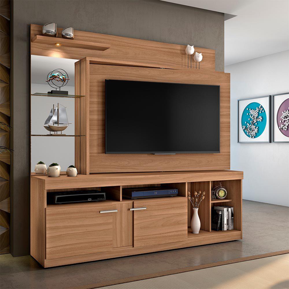 "Home Brasil P/ TV de até 60"" Naturale JCM Movelaria"
