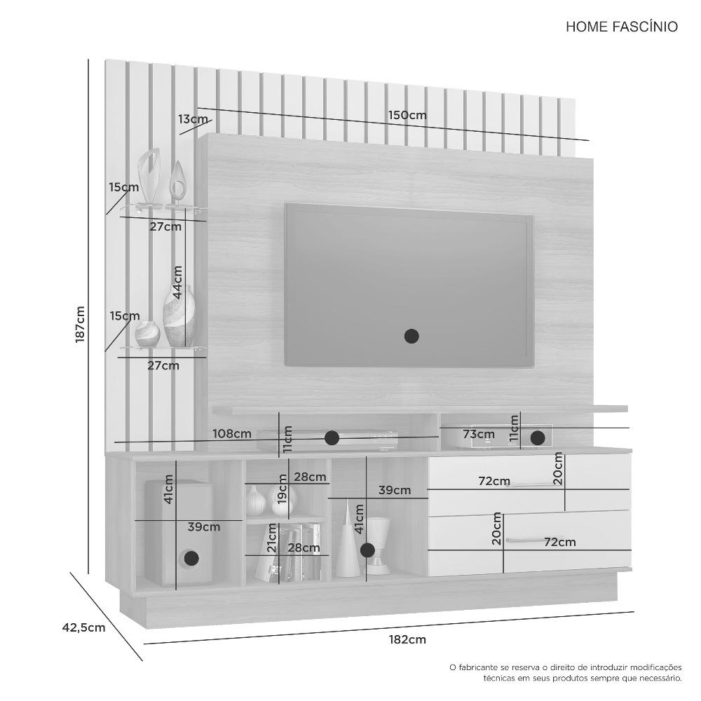 Home Fascinio Cacau - JCM Movelaria
