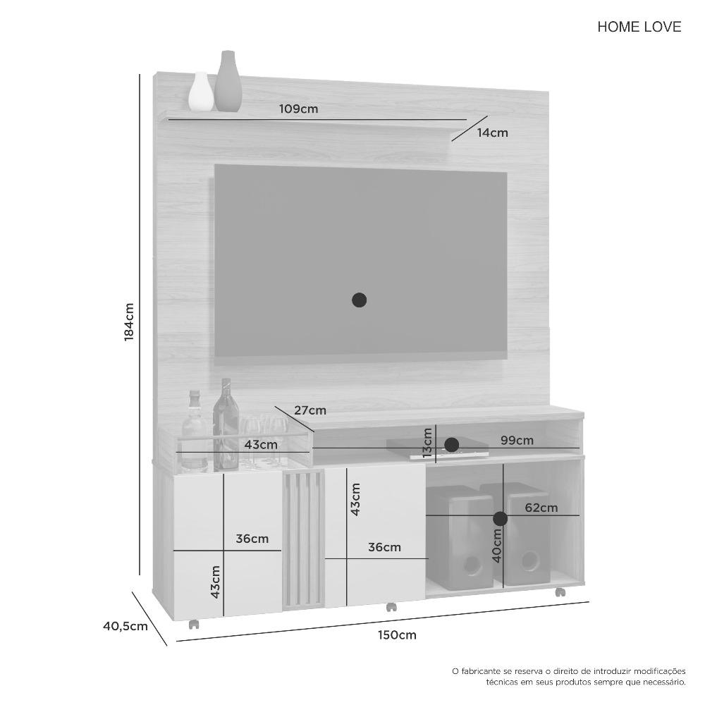 Home Love Cacau - JCM Movelaria