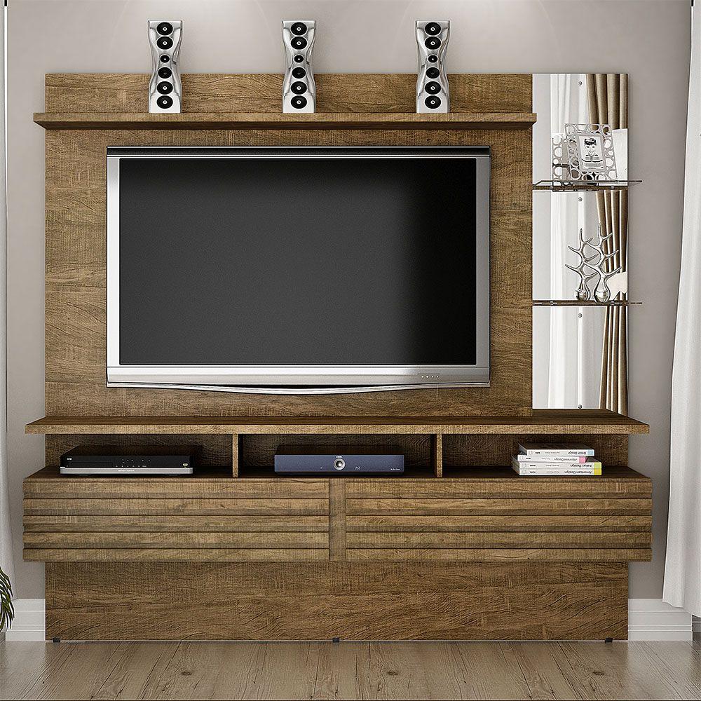 "Home Suspenso Para TV até 65"" Miami Ipê - Valdemóveis"