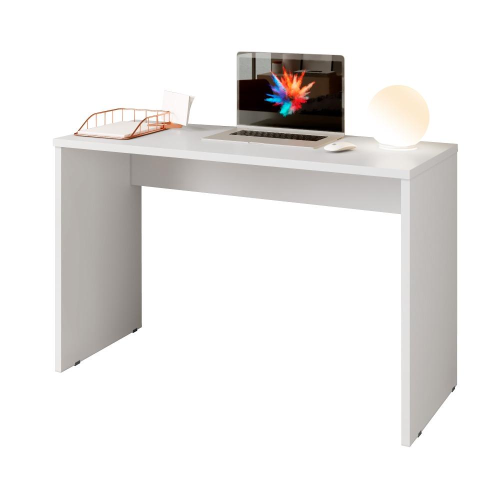 Mesa Office Barcelona Branco - Kaiki Móveis