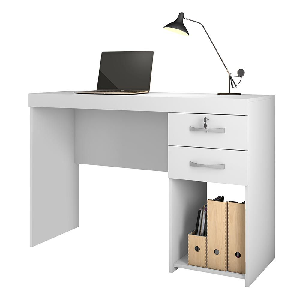 Mesa Office Iara Branco Jcm Movelaria