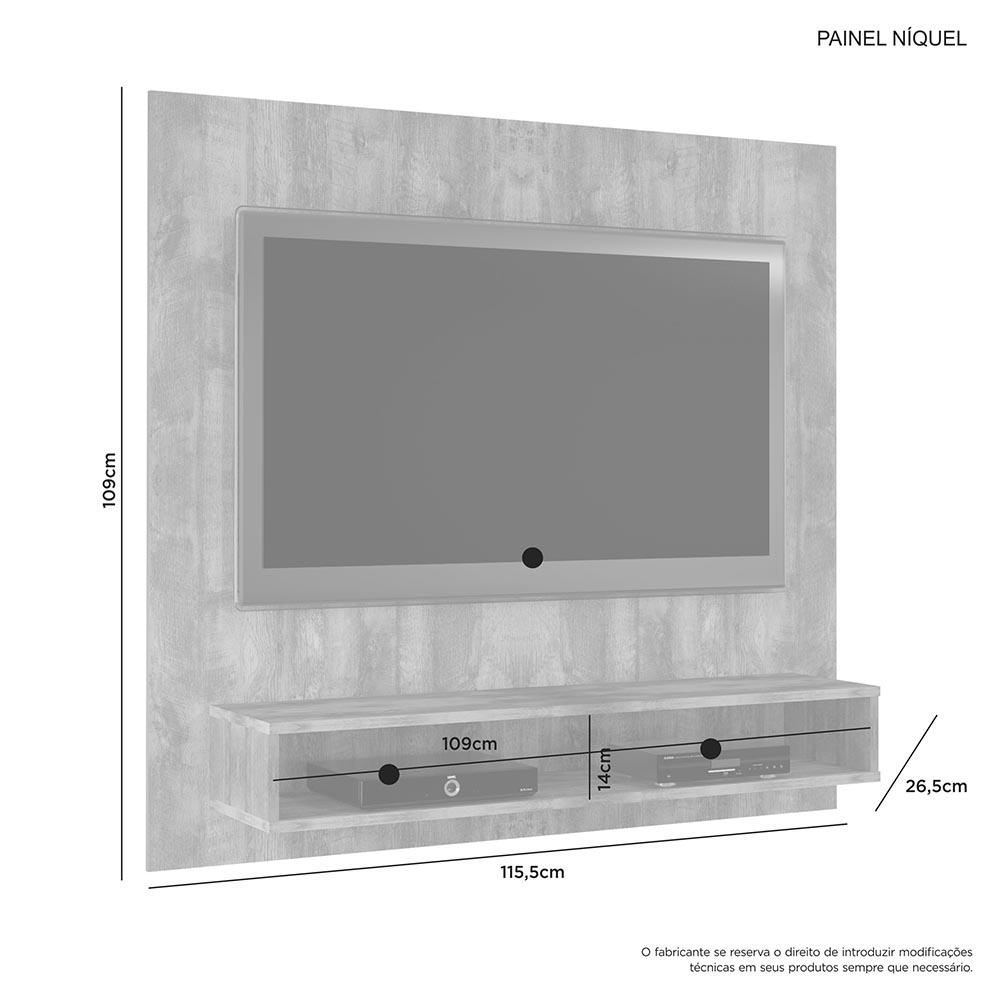 Painel Niquel Branco - JCM Movelaria