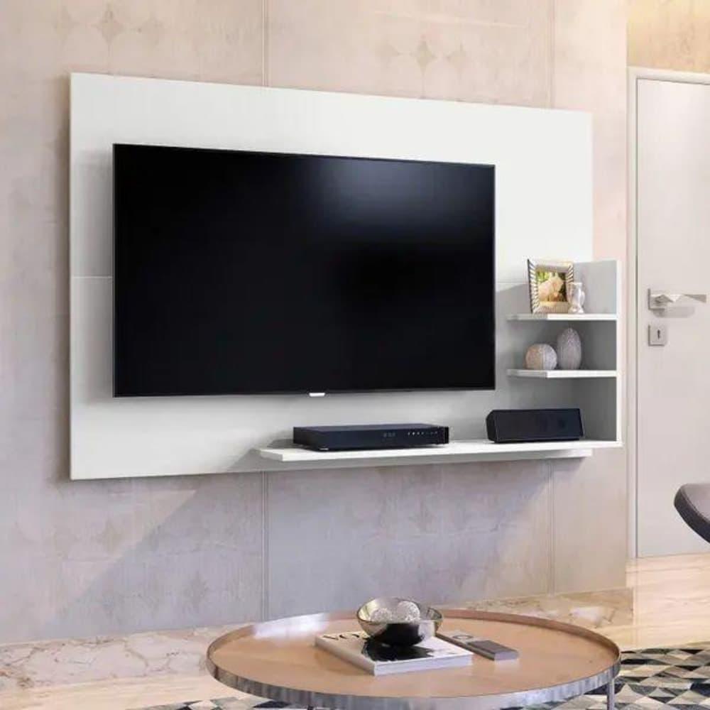 Painel para TV até 40 Polegadas  Exclusive Mavaular -  Branco - Mavaular