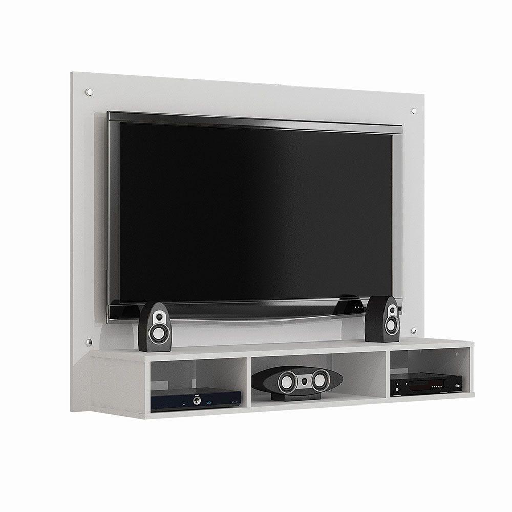 Painel para TV até 46 Polegadas Atena Branco Fosco - Valdemóveis