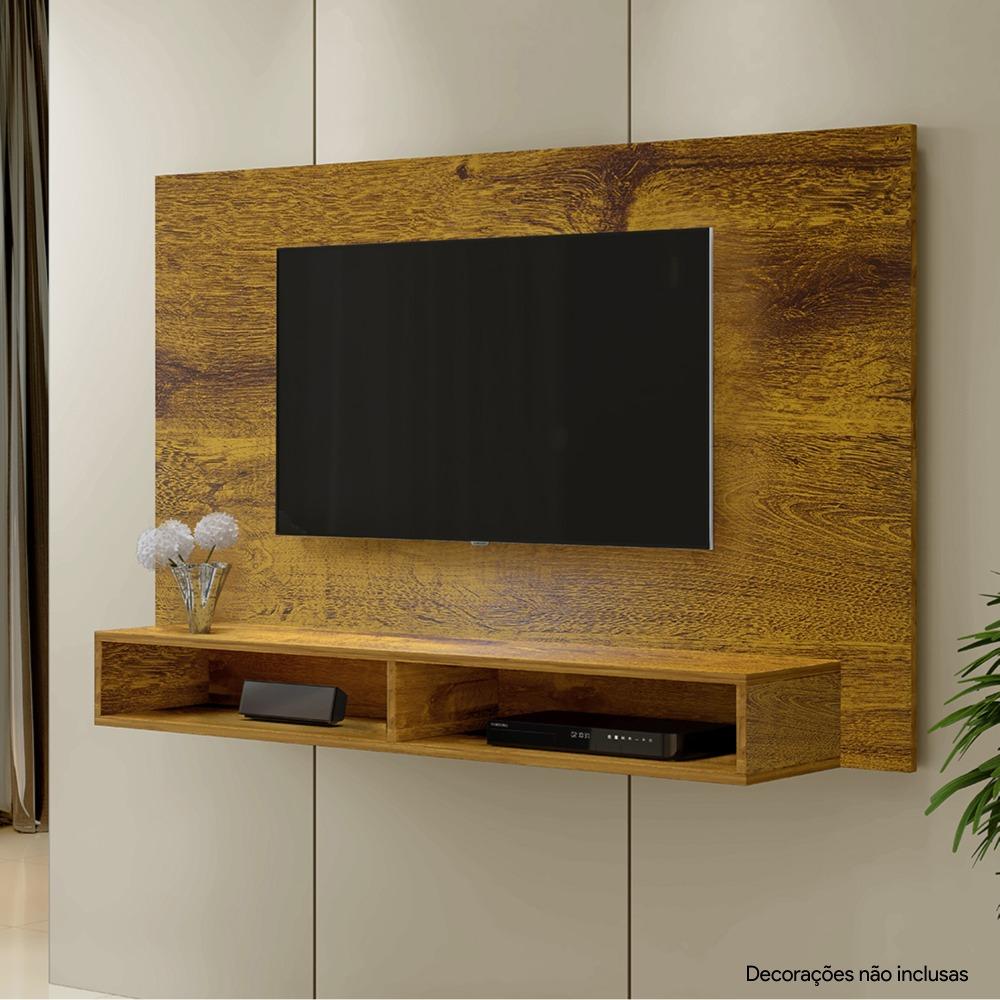 Painel para TV até 46 Polegadas Coral Rovere - Kaiki Móveis