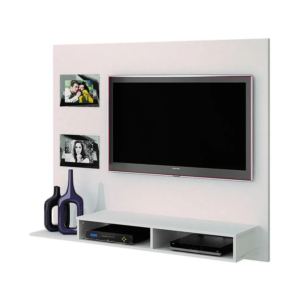 Painel para TV até 46 Polegadas Hades Branco Fosco - Valdemóveis
