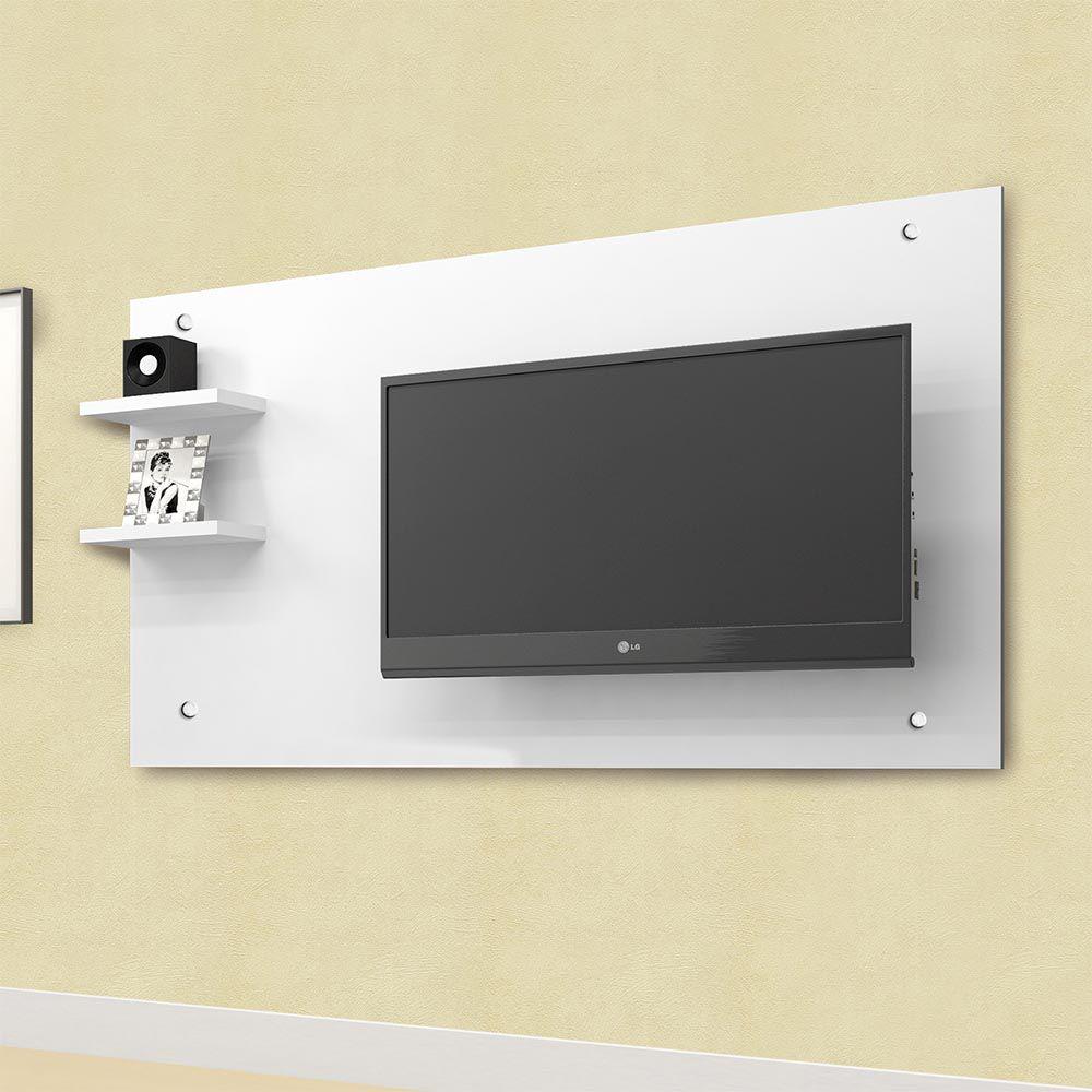 Painel para TV até 48 Polegadas Camaçari Branco - CHF