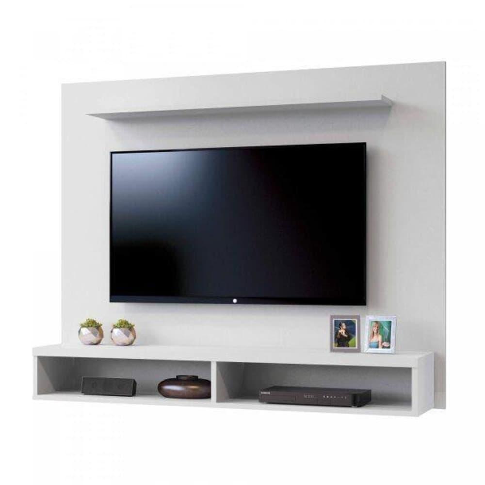 Painel para TV até 50 Polegadas  Topázio Mavaular -  Branco - Mavaular