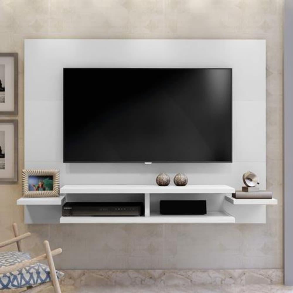 Painel para TV até 55 Polegadas  Vitória Mavaular -  Branco - Mavaular