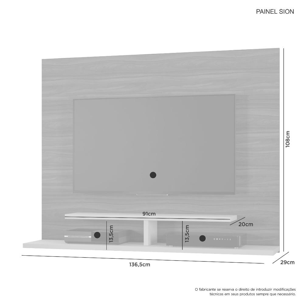 Painel Sion Branco - JCM Movelaria
