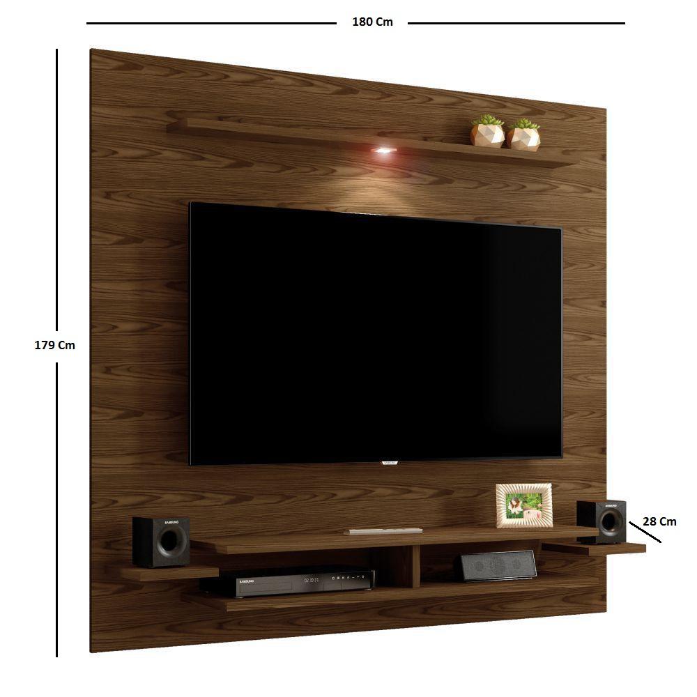 """Painel TV até 65"""" Mavaular New - Canion/Off White - Mavaular"""