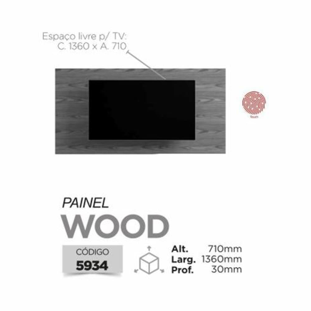 Painel Wood Mavaular -  Damasco Soft - Mavaular
