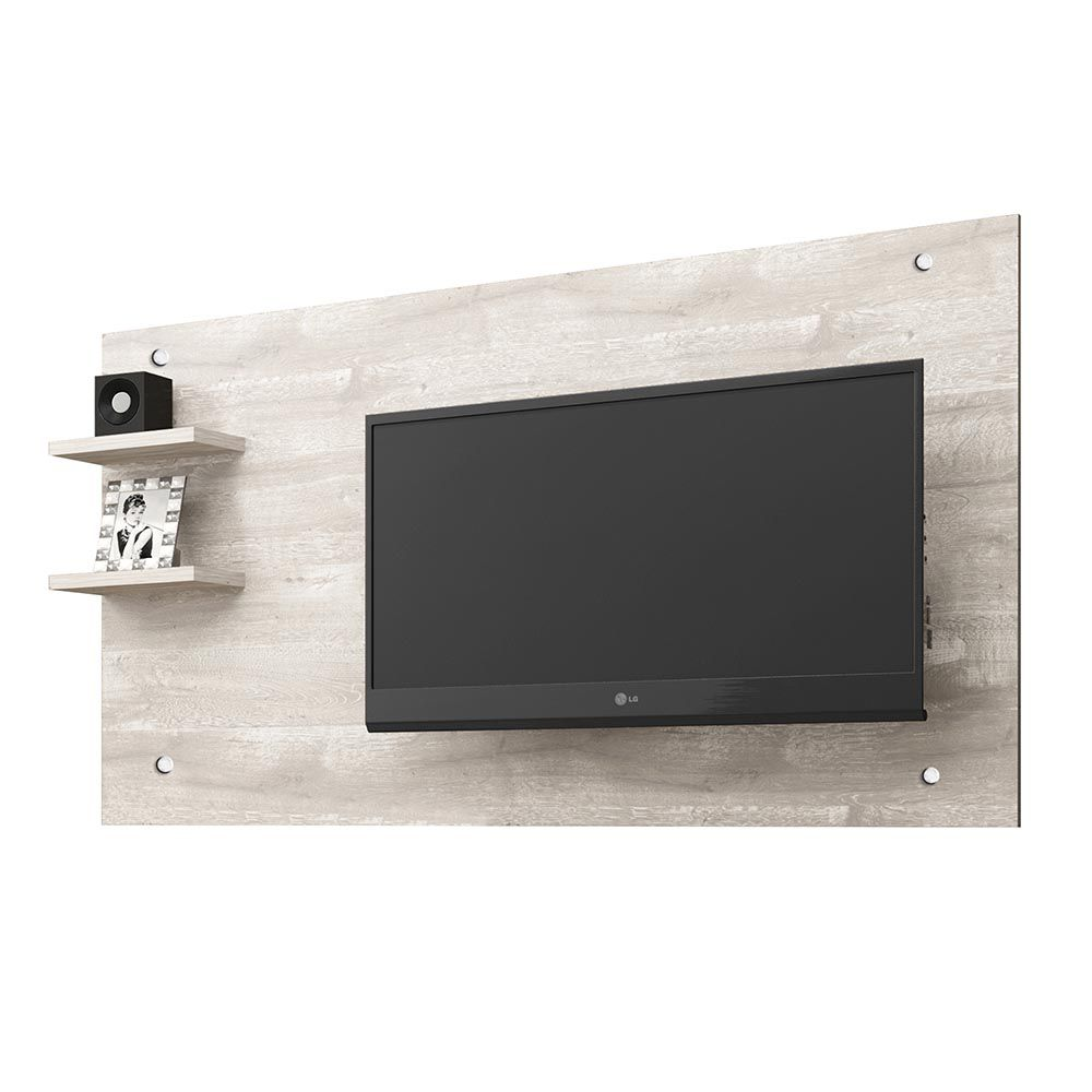 Rack c/ Painel TV 48 Polegadas Camaçari Champanhe - CHF