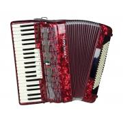 Acordeon Cadenza Cd120/41 Rd (vermelho)