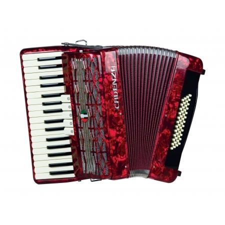 Acordeon Cadenza Cd48/34 Rd (vermelho)