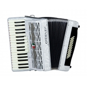 Acordeon Cadenza Cd48b/34 Wh (branca)