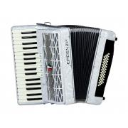 Acordeon Cadenza Cd48b/34 Wh (branca)