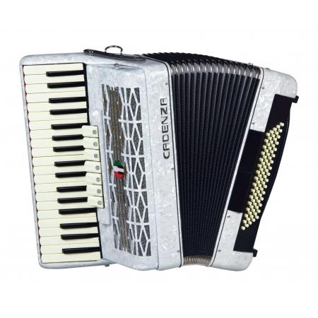 Acordeon Cadenza Cd80/37 Wh (branco)
