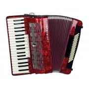 Acordeon Cadenza Cd80b/37 Rd (vermelha)