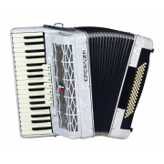 Acordeon Cadenza Cd80b/37 Wh (branco)