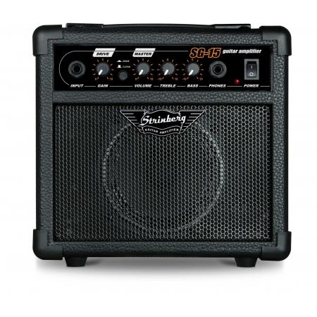 Amplificador Strinberg Sg15 Bk