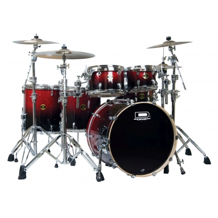 Bateria D.one Prime Pr22rbs Red Burst Sparkle