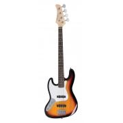 Contrabaixo Strinberg Jbs40 Sb Canhoto Jazz Bass