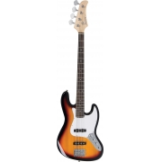 Contrabaixo Strinberg Jbs40 Wh Jazz Bass