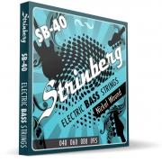 Encordoamento Strinberg Contrabaixo Sb40 4 Cordas