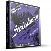 Encordoamento Strinberg Contrabaixo Sb55 5 Cordas