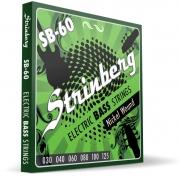 Encordoamento Strinberg Contrabaixo Sb60 6 Cordas