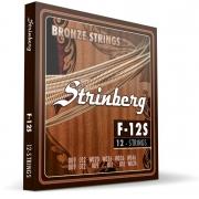 Encordoamento Strinberg Violão 12 Cordas F12s