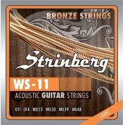 Encordoamento Strinberg Violão Ac0  Ws11