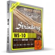 Encordoamento Strinberg Violão Aco Ws10