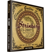 Encordoamento Strinberg Violão Nylon Cs28ht - Tensao Alta