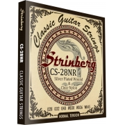 Encordoamento Strinberg Violão Nylon Cs28nr